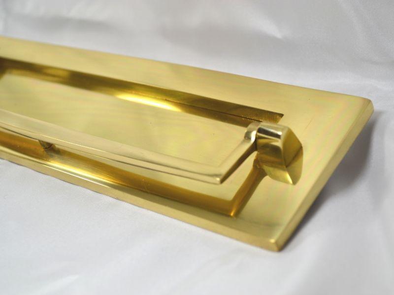 真鍮製 ノッカー付ポスト口 Om2103 Jerry S Garden