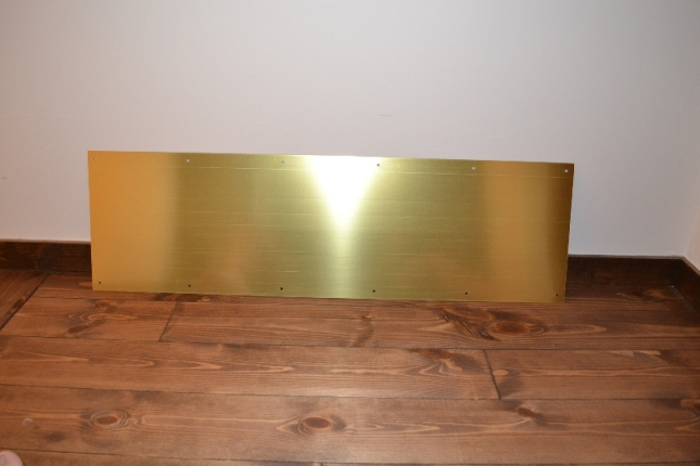 Prine Line 真鍮キックプレート(蹴り板)j4621 Jerry S Garden